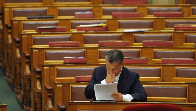 Ungarn: Endg�ltiges Aus f�r umstrittene W�hlerregistrierung (Bild: EPA)