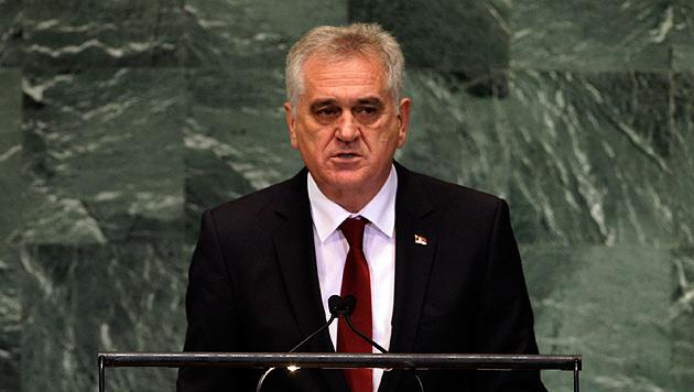 Serbiens Präsident Tomislav Nikolic (Bild: dapd)