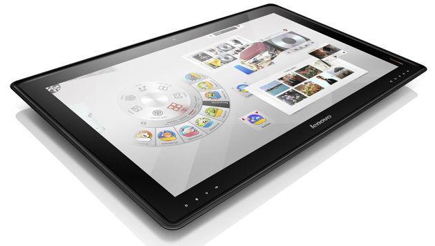 Touch-Geräte im Großformat sind auf dem Vormarsch (Bild: Lenovo)