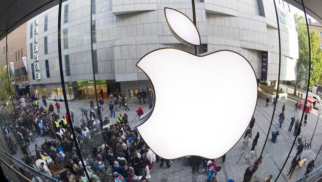 Apple stellte mehr Frauen und Minderheiten ein (Bild: Lukas Barth/dapd)