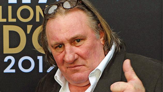 Gerard Depardieu sieht sich weiterhin als Franzose (Bild: EPA)
