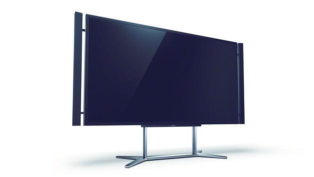 Größe ist Trumpf: Fernseher-Trends auf der CES 2013 (Bild: Sony)