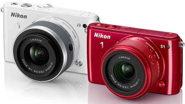 J3 und S1: Nikon erweitert Familie der Systemkameras (Bild: Nikon, krone.at-Grafik)
