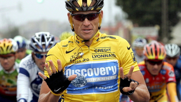 Armstrong bot Anti-Doping-Agentur 250.000 Dollar an (Bild: EPA)