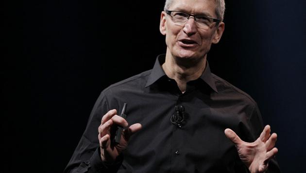 """Cook: """"NSA hat keinen Zugriff auf Apple-Server"""" (Bild: AP)"""