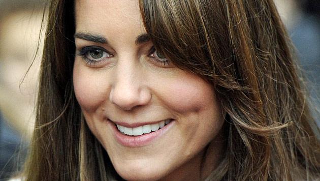 Kate ist 31 - und feiert das letzte Mal zu zweit (Bild: EPA)