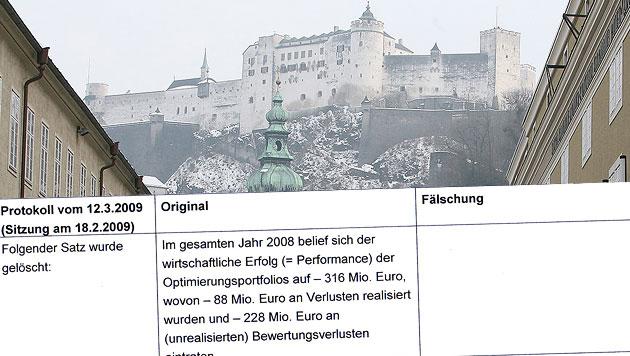 """Sbg: Millionenpleite wurde in Akten völlig vertuscht (Bild: Andreas Tröster, """"Krone"""")"""