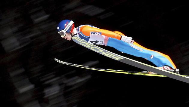 Stefan Kraft Zweiter in Quali für Oberstdorf-Fliegen (Bild: EPA)