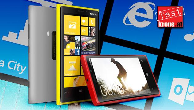 Eindrucksvolles Comeback: Nokias Lumia 920 im Test (Bild: Nokia, krone.at-Grafik)