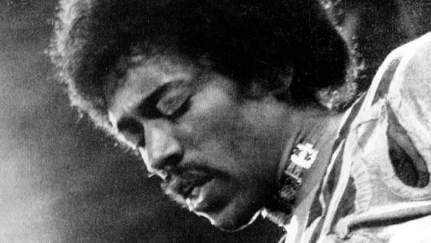 Neue Single von Jimi Hendrix veröffentlicht (Bild: dapd)
