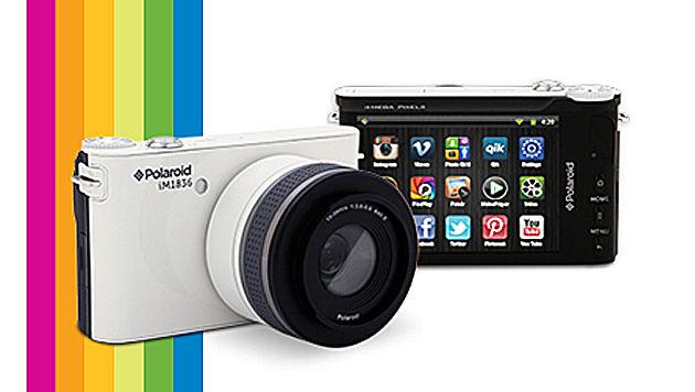 Polaroid zeigt erste Android-Kamera mit Wechselobjektiven (Bild: Polaroid)