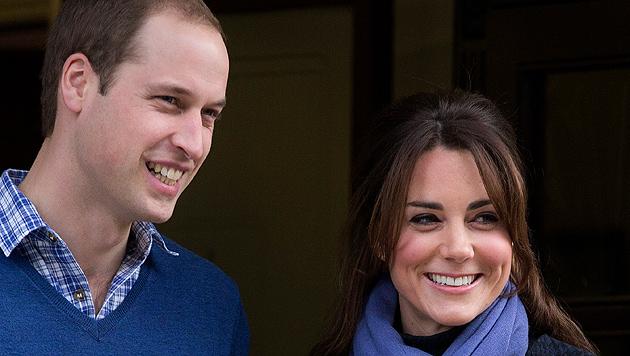 Queen: Williams und Kates Tochter wird Prinzessin (Bild: dapd)