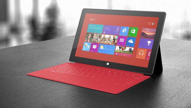 Surface-Tablets kosten Microsoft 900 Millionen (Bild: Microsoft)