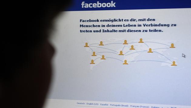 15-Jährige in USA live auf Facebook vergewaltigt (Bild: Matthias Rietschel/dapd)