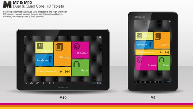 Android-Tablets zum Kampfpreis auf dem Vormarsch (Bild: Polaroid)