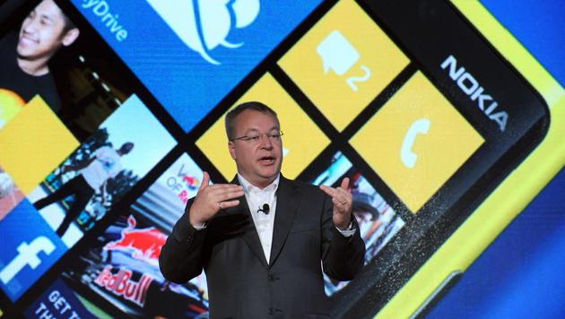 Gehaltskürzungen für Nokia-Chef Stephen Elop (Bild: AP)