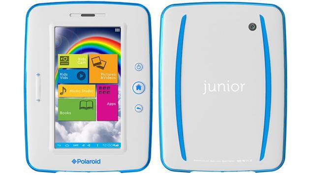 Polaroid greift Google mit billigen Android-Tablets an (Bild: Polaroid)