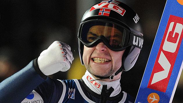 """Jacobsen gewinnt, """"Schlieri"""" beim Comeback Achter (Bild: AP)"""