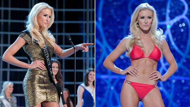 """""""Miss DC"""" lässt sich nach US-Wahl beide Brüste abnehmen (Bild: AP)"""