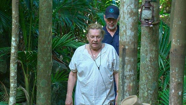 RTL holt Helmut Berger aus dem Dschungelcamp (Bild: RTL)