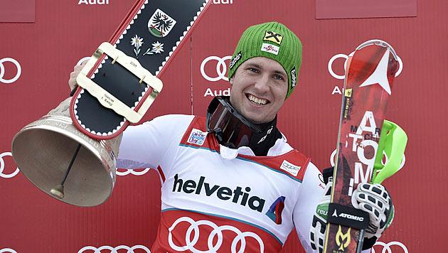 Hirscher triumphiert nach Aufholjagd in Adelboden (Bild: EPA)