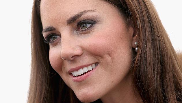 Baby von William und Kate kommt im Juli zur Welt (Bild: dapd)