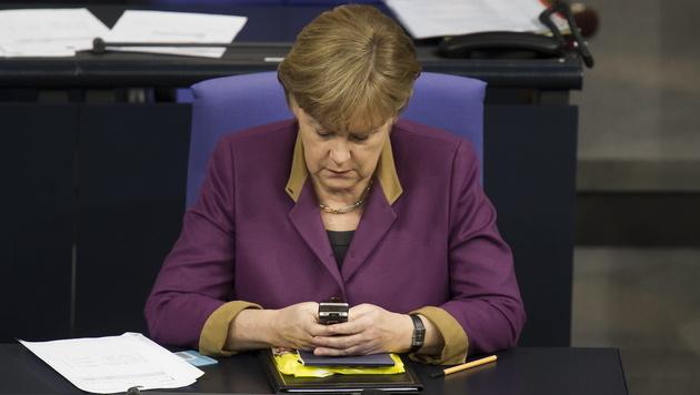 D: Merkel-SMS werden für die Nachwelt archiviert (Bild: dapd/Clemens Bilan)