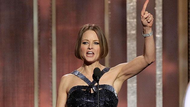 Jodie Foster: Coming-out bei den Golden Globes (Bild: AP)