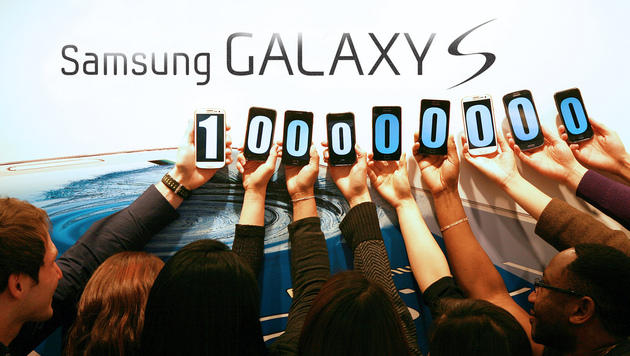 Samsung setzt 100 Millionen Galaxy-S-Smartphones ab (Bild: Samsung)