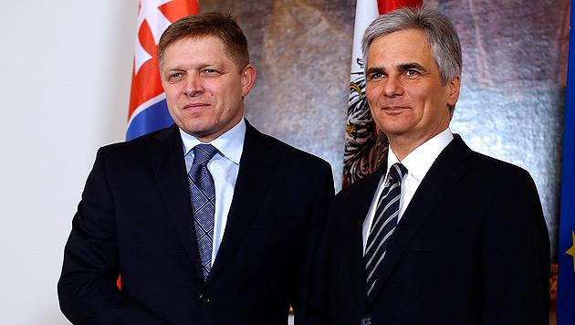 Slowakei-Premier: Euro-Austritt von Athen kein Tabu (Bild: APA/Georg Hochmuth)