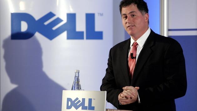 Dell gehört ab Ende des Monats wieder Michael Dell (Bild: Jens Schlueter/dapd)