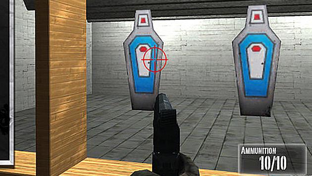 iPhone-Schießstand der NRA schon für Vierjährige spielbar (Bild: MEDL Mobile)