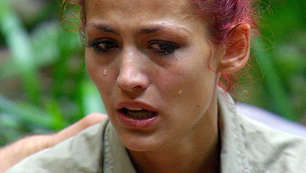 Bittere Tränen bei Fiona ++ Joey will raus aus Dschungel (Bild: (c) RTL)