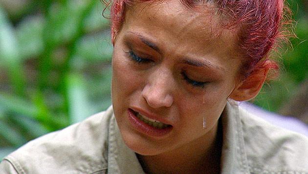 Bittere Tr�nen bei Fiona ++ Joey will raus aus Dschungel (Bild: (c) RTL)