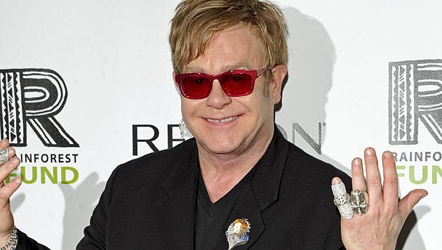 Elton John bestätigt Geburt seines zweiten Sohnes (Bild: dapd)