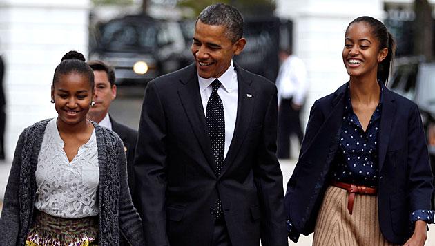 Waffenlobby NRA greift Obama �ber seine T�chter an (Bild: dapd)