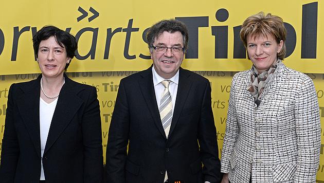 """""""vorwärts Tirol"""" als Konkurrenz für LH Günther Platter (Bild: APA/ROBERT PARIGGER)"""