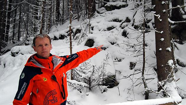 17-J�hriger st�rzt �ber Felswand 25 Meter in den Tod (Bild: Konrad Rauscher)