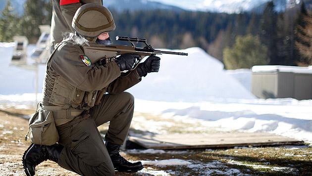 Bgld: Soldat schoss sich bei Übung ins Bein (Bild: APA/GEORG HOCHMUTH)