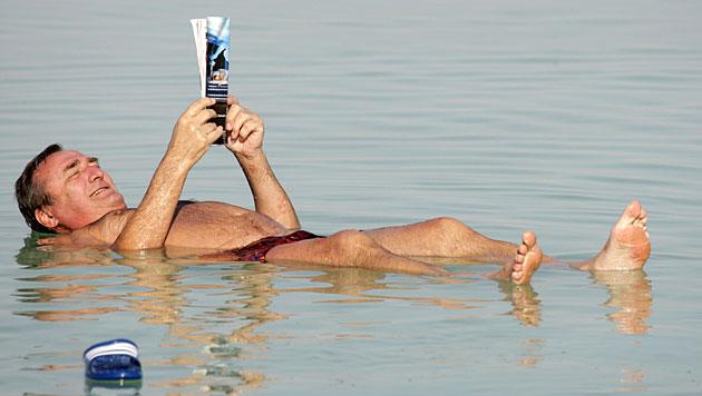 Erstmals seit zehn Jahren: Spiegel des Toten Meeres steigt (Bild: dapd)