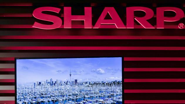 Kahlschlag: Sharp feuert jeden achten Mitarbeiter (Bild: AP)