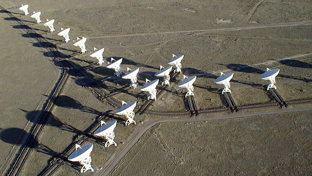 Der Karl G. Jansky Very Large Array (VLA) (Bild: NRAO/AUI)