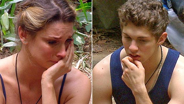 Misshandelt: Joey rührt Claudelle zu Tränen (Bild: (c) RTL)