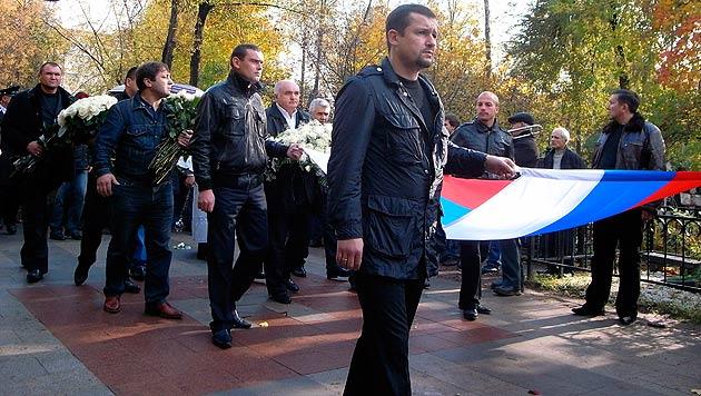 Nach Mafiamord: Russen fürchten Gangsterkrieg (Bild: dapd)