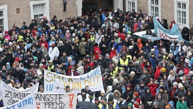 Streit um Löhne für Beamte in Salzburg nun beigelegt (Bild: MARKUS TSCHEPP)