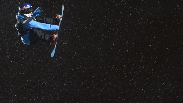 Finne Tonteri holt bei der Snowboard-WM Big-Air-Gold (Bild: EPA)