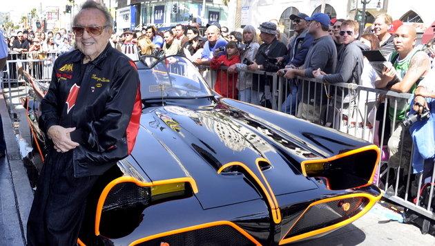 Original-Batmobil für 4,2 Millionen US-Dollar versteigert (Bild: EPA)