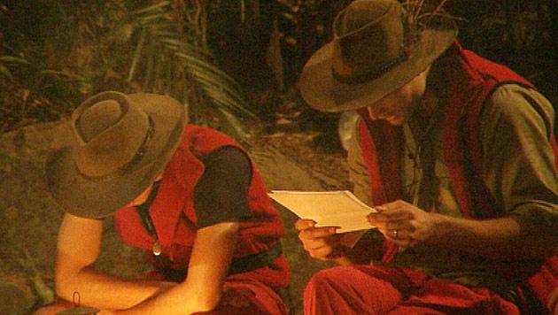 Allegra Curtis heult sich aus dem Dschungelcamp (Bild: (c) RTL)
