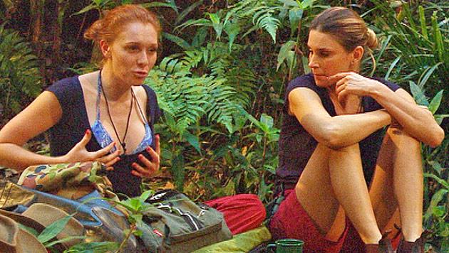 Beauty-OP-Beichte im Camp: Bei Allegra alles echt? (Bild: (c) RTL)