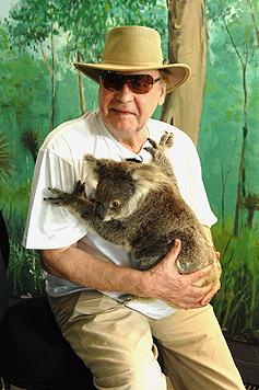 Helmut Berger will nun Haus in Australien kaufen (Bild: (c) RTL / Stefan Menne)